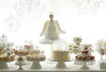 decoration mariage ange thème noel