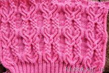 knitt 2 узоры спицами