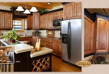 Western Heritage Vacation Home - Showplace Cabinets / Cambridge and Chesapeake Door Styles