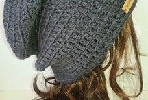 ニット帽編み図