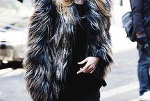 Faux fur styles / Faux fur . Style . Trends . Fashion .