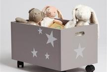 Toy's wood box