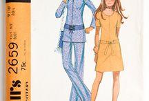 1970s kids sewing patterns