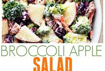 Linda's Fav Recipes / Broccoli and Apple Salad