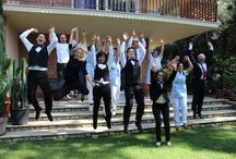 The staff 2014! / These are the photos we took last week in our beautiful #garden #selfie