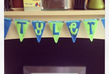 Brilliant Buntings. / Handmade banners of different varieties. Allude by Something a little bit different.