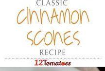 Cinnamon and scones