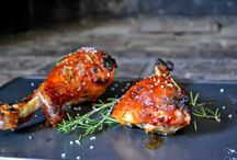 Recette / Turkey leg Pumkin glase