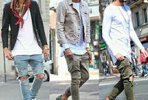 グランジ ファッション メンズ