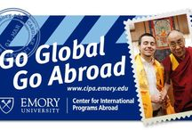 Emory Abroad / Encouraging both intellectual and personal growth through challenging scholarship and cultural immersion. | http://www.cipa.emory.edu / by Emory University