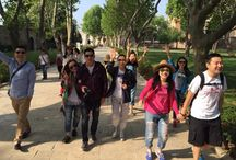 Topkapı Palace / #Chinese youths visited #TopkapiPalace!  #Turkey#Istanbul #Ataturk #Travel #Spring #Happiness