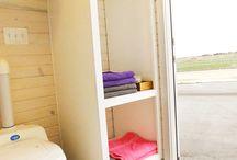 Tiny House Bathrooms / A board full of the most beautiful tiny hosue bathroom ideas on Pinterest! #bathroom #interiordesign #DIY #organizing #bathroom #bathroomideas #tinyhouse #bathroomdesign #bathroomremodel #homedecor #homedecorideas #tiny #tinyhome  www.tinyidahomes.com