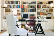 interiors {bookshelves}