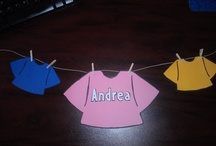 [Door Decs] / Each resident should be welcomed into the community by their door decorations on their doors