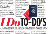 Wedding to dos