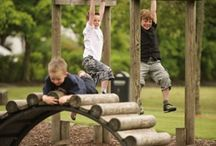 Outdoor play / Inspirational ideas for outdoor play