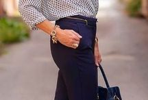 classic outfit over 50