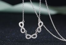 Infinity Symbol Necklaces