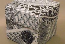 Zentangle boxes