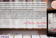 Mes Lectures Août 2017