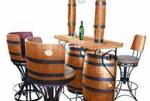 Bar Con Botti Di Vino