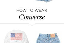 Converse with Hotpants