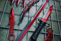 swords, knifes and blades