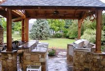 Outdoor Kitchen / by Jane Reimer