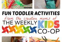 Toddler activities & fun