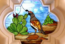 Stained Glass / Ideas for Jan for the stained glass design / by Robin Abbate