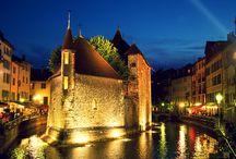 Belle France / France ont quelque chose d'intéressant à découvrir - villages, paysages, bâtiments historiques, perdus dans la campagne, les plages au calme