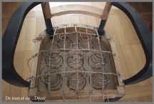 Rénovation fauteuil