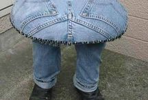 Recycled Jeans Ideas