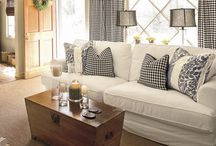 Living Room Ideas / by Tina Morrell Worley
