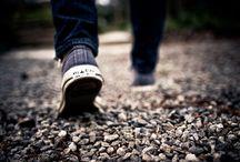 남자 뒷모습 신발
