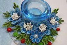 kék gyertyas