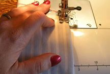 Learning to sew. / by Sratin' is a Habit