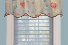Summer Decor Window Valances / Valances can add a great finishing touch to any window and room. Picking a valance that perfectly matches the decor on the room is very important. That's why at Innuwindow we offer a wide variety of valance options for you to choose, as well as custom valances. From readymade to custom, rod pocket to box-pleated and cornices to swags, we have everything you need at our Greater Boston showroom. Check out our valances and stop by our Natick showroom today!