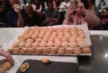 Choux croustillants... Making of ..... Julien Beaulieu creations, #FrenchPastrySeminarAthens / Τραγανά σου, σαντιγύ με κάστανα, ζελέ από μανταρίνια Κορσικής  Choux croustillants, chantilly aux marrons, gelée de mandarine Corse