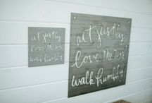 Stuff to Decorate New Home / by Meagan Miller