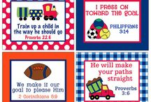 Bible Verse Lunch Box Notes