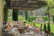 Decoración, home, organización, patios, balcones, jardines, ... / by Mari Carmen R.