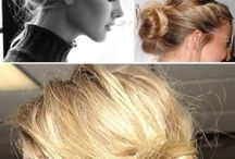 Flow hair style / Messy/flow hair style ideas