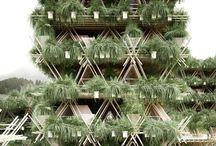 Façade végétal / architecture de la façade . une collection de façades uniques partout dans le monde