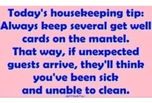 HOUSEKEEPING! / by Chris Hill