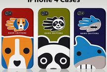 iPhone 4 cases / by Hand Critters