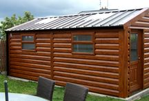Harker Insulated Workshops and offices / A huge range of insulated steel workshops and office building from our Harker Shanette range of garden buildings
