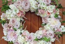 Precious funeral flowers