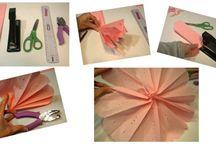 Les confettis Bricolent / Ce que nous avons réussi à faire avec nos dix doigts !