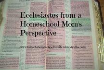 Bible Study-Homeschool / by Casey Hylton